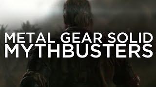 Metal Gear Solid V Mythbusters Episode 3