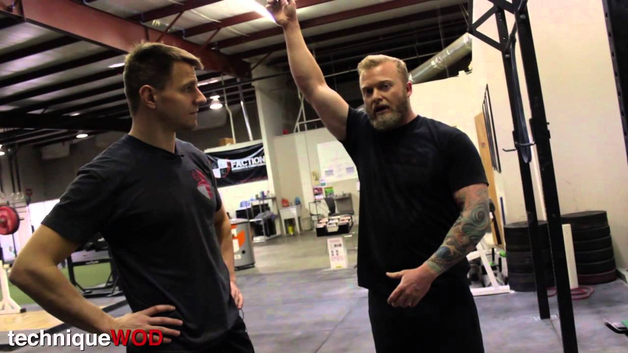 All About Pull-Ups:  Loading, Scaling, Kipping, Butterfly and Deadhang - TechniqueWOD Episode ??