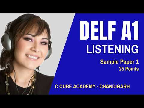 DELF B1 Comprehension Orale Listening Practice Test Online DELF B1