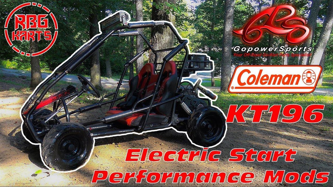 Coleman Kt196 Electric Start Amp Performance Mods