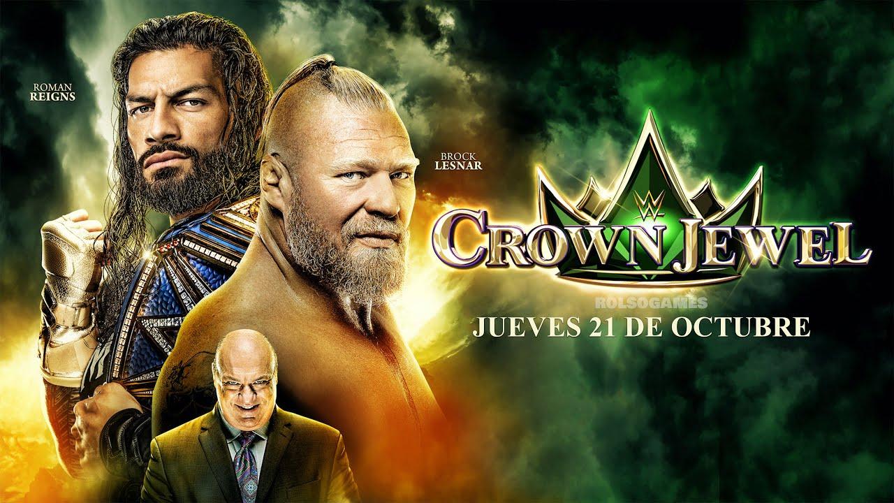 Download WWE CROWN JEWEL 2021   PPV COMPLETO   SIMULACIÓN