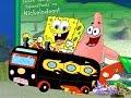spange bob race car (мультик губка боб гоняет на желтой супер  турбо машинке)