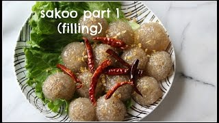 How to make SAKOO YAT SAI Part 1 | TAPIOCA BALLS/DUMPLINGS | House of X Tia