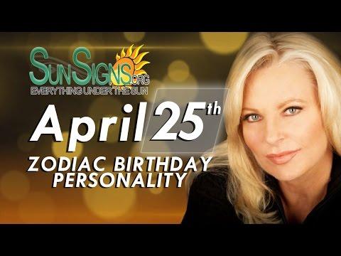 Facts & Trivia - Zodiac Sign Taurus April 25th Birthday Horoscope