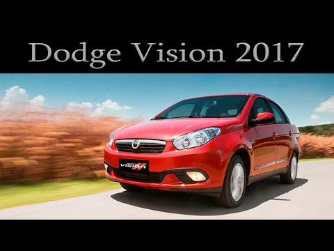 Dodge Vision 2017. La comodidad viene con caja manual