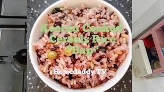 """Korean food. Cooked Rice """" Bap…"""