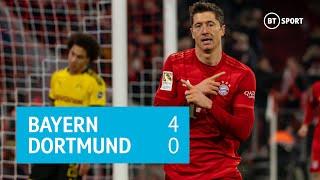 Bayern Munich vs Borussia Dortmund (4-0) | Bundesliga highlights