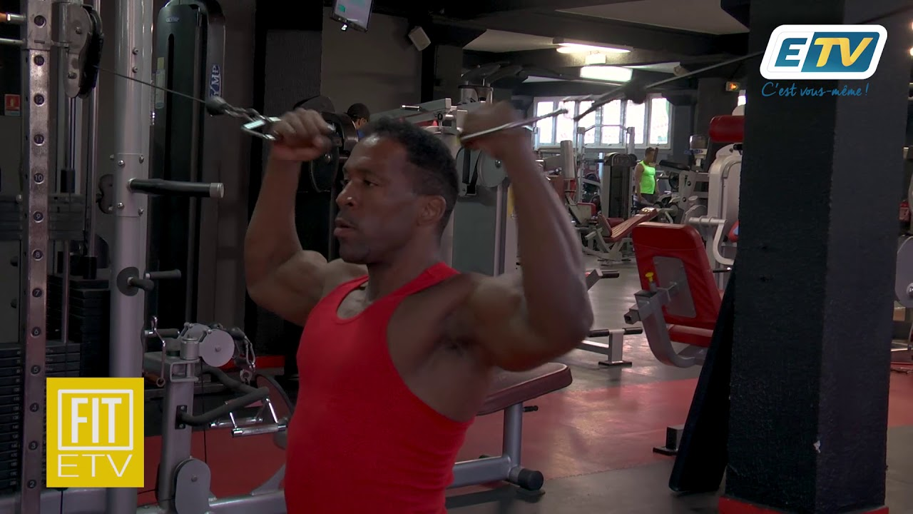ETV FIT : EXERCICES GRAND DORSAL + TRICEPS PUIS BICEPS