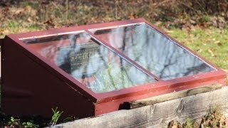 Cold Frame How To Grow Greens in Winter GardenFork.TV
