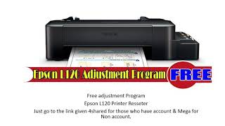 Gambar cover Epson L120 Resster Download for Free