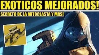 Destiny 2 - SECRETO DE LA MITOCLASTA VEX! EXÓTICOS MEJORADOS! BUFFS Y MÁS!