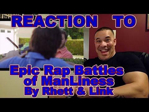 EPIC RAP BATTLE of MANLINESS Reaction