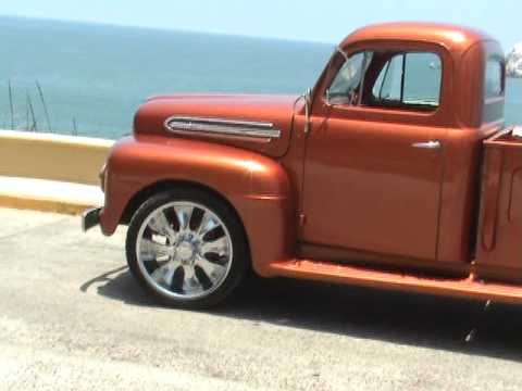 Camioneta Ford Clasica 51 F3 Youtube