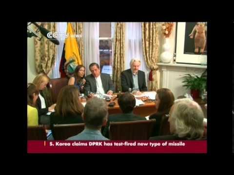 WikiLeaks founder said he would 'soon' be leaving Ecuador's London Embassy Embassy