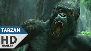THE LEGEND OF TARZAN All Movie Clips Compilation (Margot Robbie - 2016)