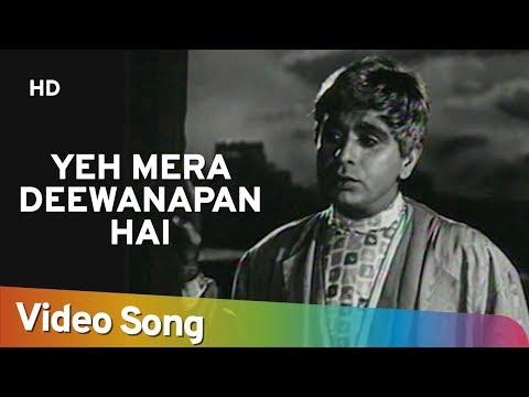 Yeh Mera Deewanapan Hai (HD) - Yahudi Songs - Dilip Kumar - Meena Kumari - Mukesh -  Filmigaane thumbnail