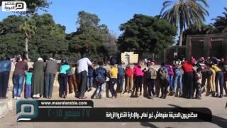 بالفيديو| سكندريون:الحديقة مفيهاش غير نعام.. والإدارة: انتظروا الزرافة