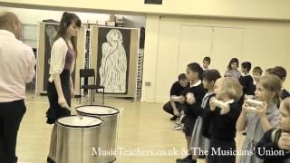 Primary Music Lesson: Rhythmically Speaking: 10 Samba Ensemble