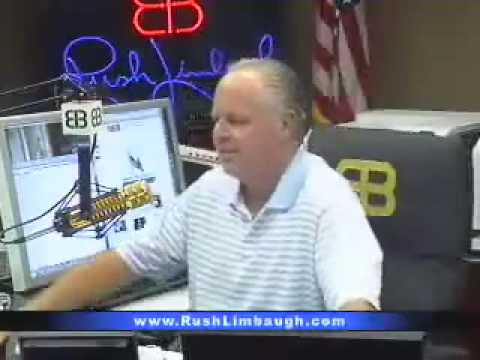 Rush Limbaugh: 'New national anthem of the banana republic of the United States'