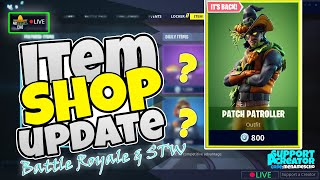 💥MenamesCho's LIVE 🔵 ITEM SHOP UPDATE - COUNTDOWN 🕐 Fortnite Battle Royale - Wed 16th Oct 2019