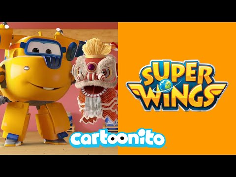 Super Wings | The Mighty Dancing Lion | Cartoonito UK