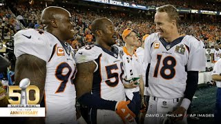 Five from 50: Untold stories from the Broncos' Super Bowl 50 victory