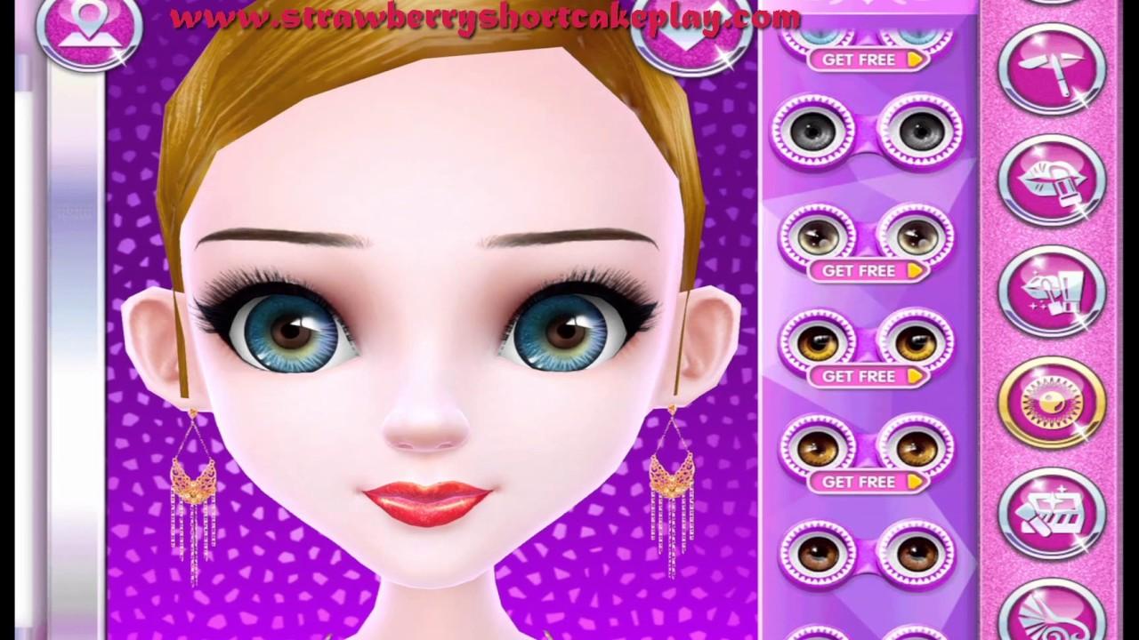 Fashion model dress up games for girls