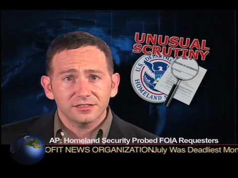 Homeland Security Probed FOIA Requesters