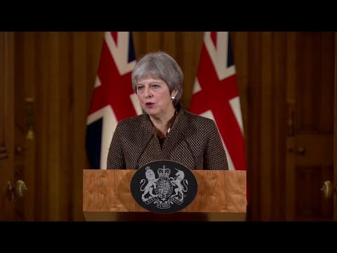 Theresa May: Syria strikes « will also send a clear message to anyone else »