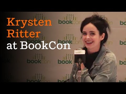 Krysten Ritter spotlight (full panel) | BookCon 2017