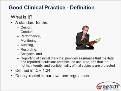 abcs of gcp and the 13 principles of ich trailer