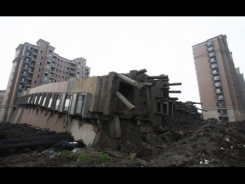 ABANDONED HAUNTED HIGHLAND TOWERS (COLLAPSED)