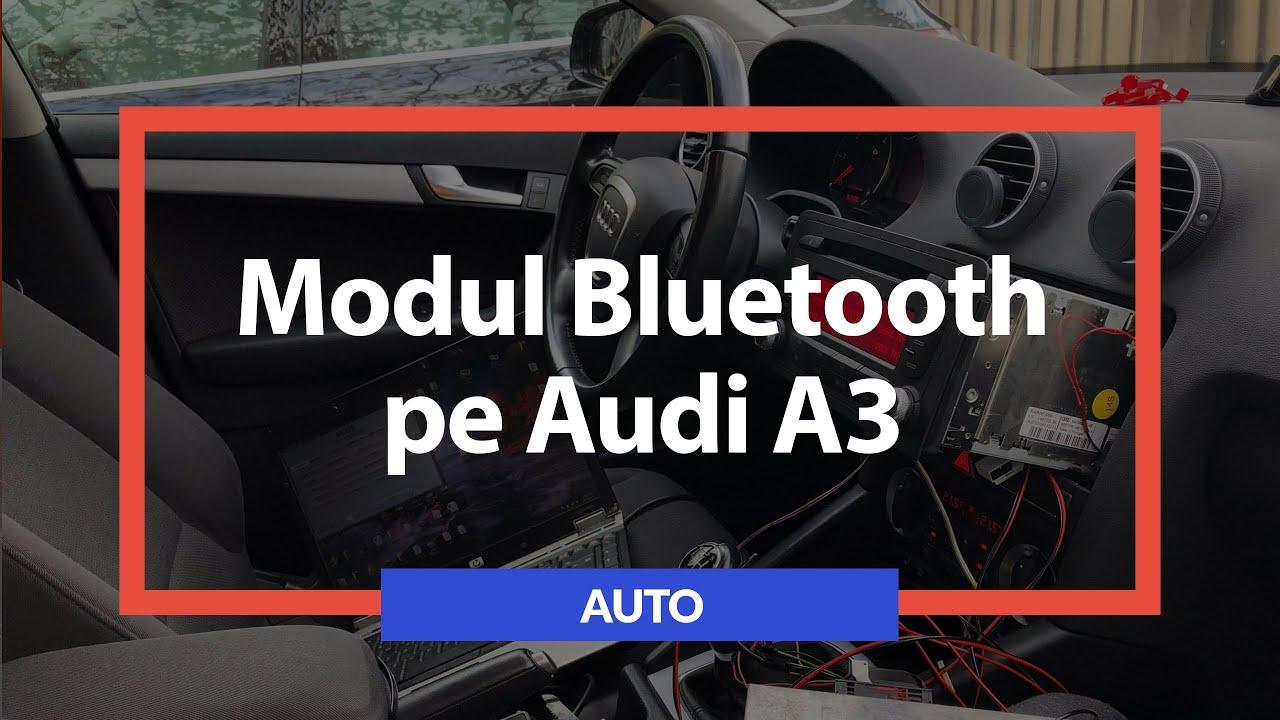 Montare telefon bluetooth OEM pe Audi A3