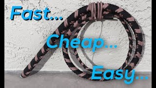 How To Make a Paracord Bullwhip  FAST, CHEAP, EASY!!!