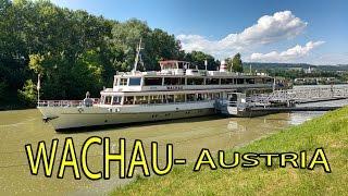 Wachau Austria. Navegando por el Danubio