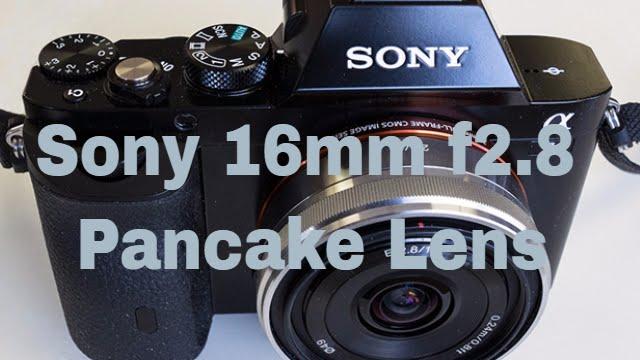 SEL-16F28 16 mm f//2.8 Pancake Lens