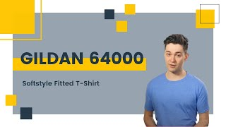 Gildan 64000 Softstyle Fitted T-Shirt | Blankapparel.ca