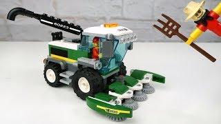 ???? Надо поле притоптать! ● LEGO CITY 60223 [Обзор]