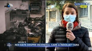 Stirile Kanal D(16.11.2020) - Noi date despre incendiul care a indoliat tara! Ancheta de amploare