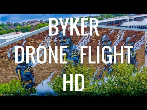 Byker Drone Flight AMAZING HD! - Newcastle-Upon-Tyne - #EpicDroneClips No.5