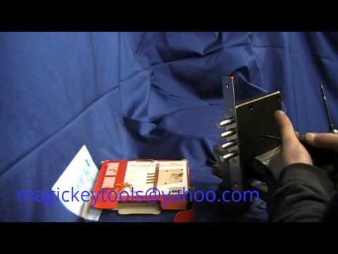 Самоимпрессия ELP   Вскрытие замка ELP 3+3 методом самоимпрессии