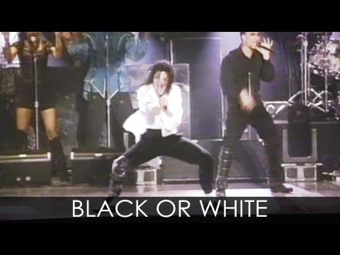 "Michael Jackson - ""Black Or White"" Live Dangerous Tour Wembley 1992 - Enhanced - HD"
