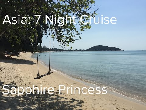 Asia: 7 Night Cruise, Sapphire Princess + Dubai (Princess Cruises)