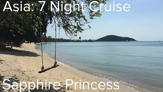 Asia: 7 Night Cruise, Sapphire Princess + Dubai (Princess Cruises)