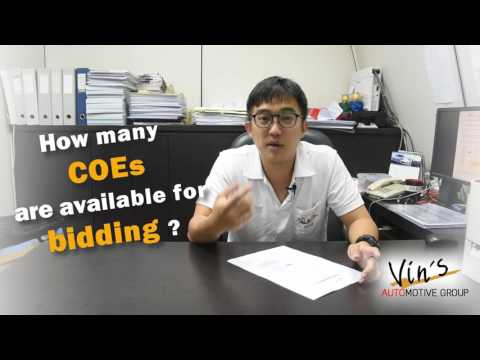 VAuG's Education Series - How COE Bidding Works