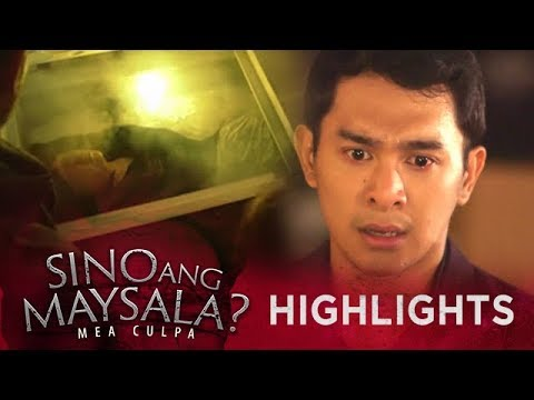 Gaylord gets terrified by the sight of Amor's body | Sino Ang Maysala