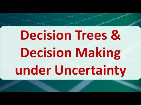 11 Decision Trees & Decision Making under Uncertainty