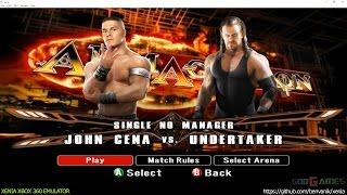 Xenia Xbox 360 Emulator - WWE SmackDown vs Raw 2008 Ingame!