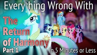 (parody) Everything Wrong With Return Of Harmony Part One In 5 Minutes Or Less