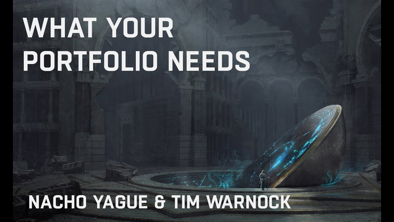 What You Need In A Concept Art Portfolio With Nacho Yague And Tim Warnock